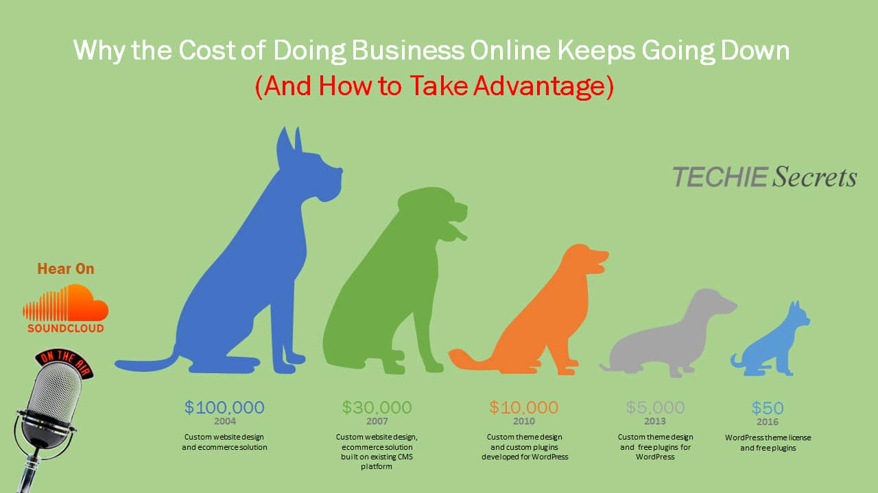005 Why the Cost of Doing Business Online Keeps Falling (And How to Take Advantage)