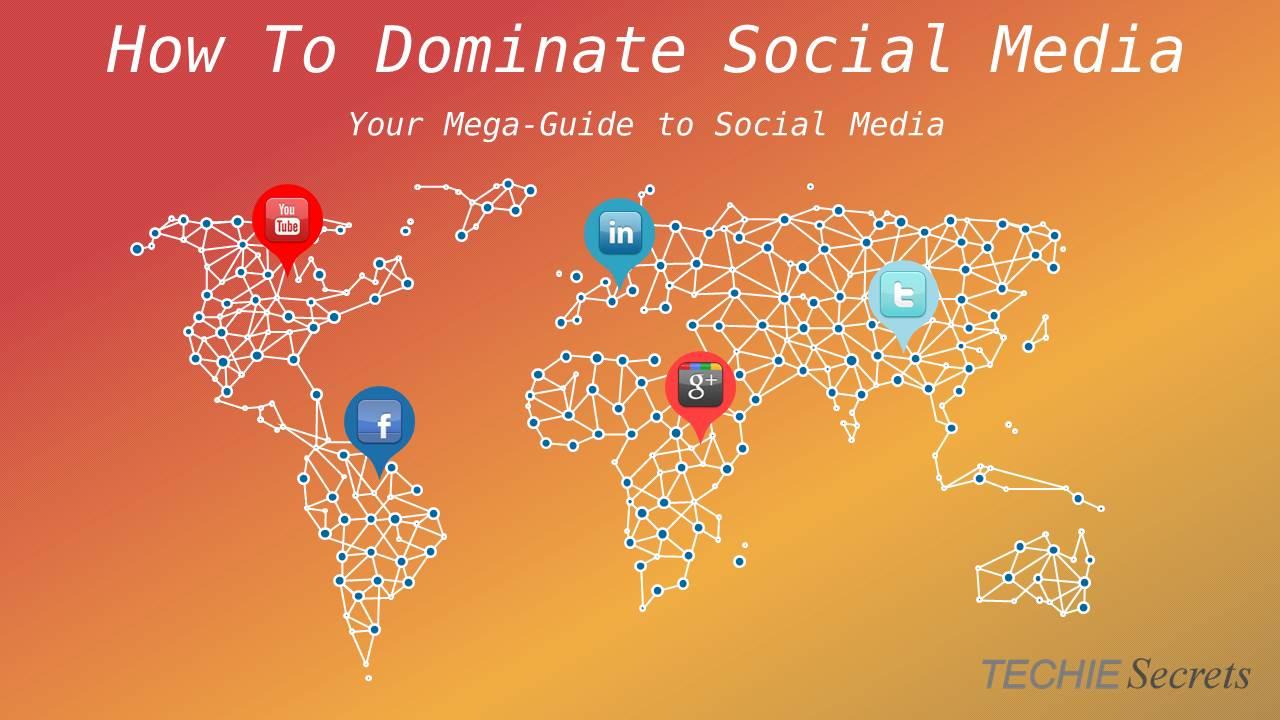 Social Media map