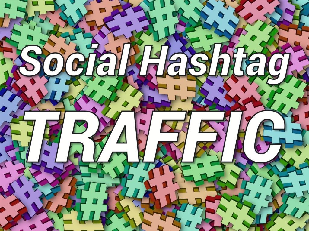 Social Hashtag Traffic banner